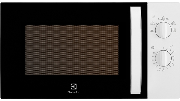 Lò vi sóng Electrolux EMM23K18GW (23L) mặt chính diện