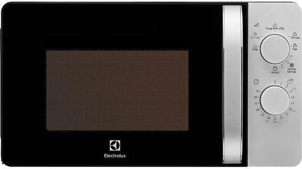 Lò vi sóng Electrolux 20 lít EMG20K38GB mặt chính diện