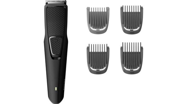 Máy tạo kiểu râu Philips BT1214 thiết kế tiện dụng để dễ cầm gọn trong lòng bàn tay