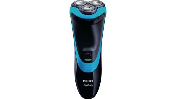 Máy cạo râu Philips AT756 có thể cạo khô và ướt nhờ đầu bịt Aquatec