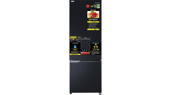Tủ lạnh Panasonic Inverter 322 lít NR-BC360WKVN mặt chính diện