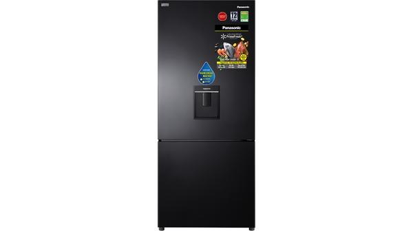 Tủ lạnh Panasonic Inverter 368 lít NR-BX410WKVN mặt chính diện