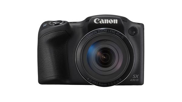 Máy ảnh Canon PowerShot SX430IS mặt chính diện