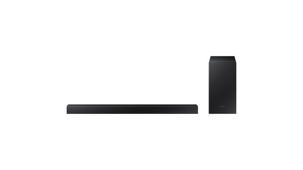 Loa thanh Soundbar Samsung 2.1ch HW-T450 cho chất lượng âm thanh chân thực