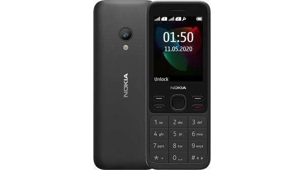 Điện thoại Nokia 150 Đen thiết kế nhỏ gọn