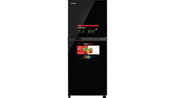 Tủ Lạnh Toshiba Inverter 194 lít GR-A25VM (UKG1) mặt chính diện