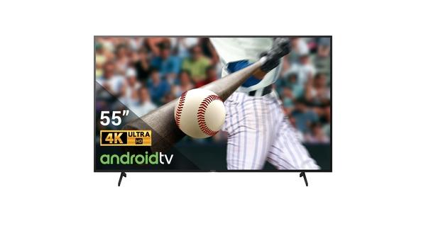Android Tivi Sony 4K 55 inch KD-55X8050H VN3 mặt chính diện