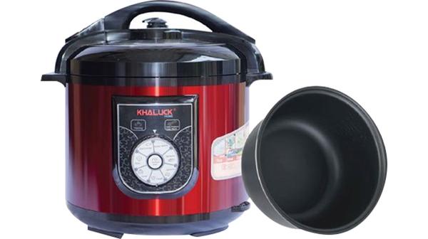 Nồi áp suất Khaluck.HomeKL-788 có dung tích nồi lớn đến 6 lít và công suất cao