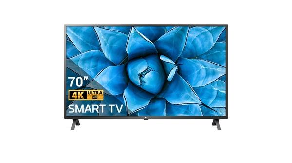 Smart Tivi LG 4K 70 inch 70UN7300PTC mặt chính diện