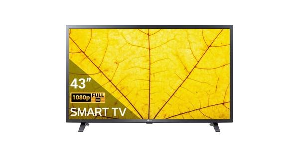 Smart Tivi LG 43 inch 43LM6360PTB mặt chính diện