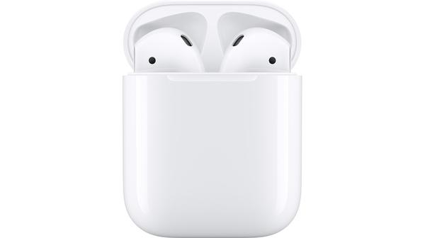 Tai nghe Apple Airpods 2 hộp sạc dây MV7N2VN/A mặt chính diện