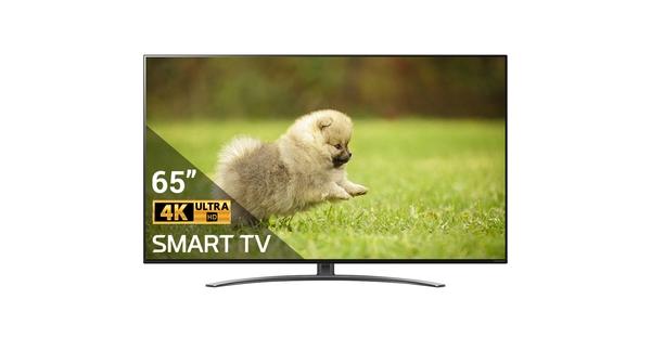 Smart Tivi NanoCell LG 4K 65 inch 65NANO86TNA mặt chính diện
