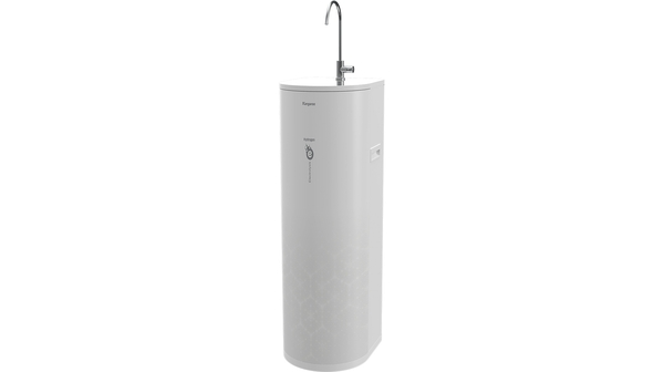 Máy lọc nước Hydrogen ion kiềm Kangaroo KG100EO mặt nghiêng trái