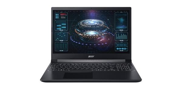 Acer Aspire 7 R5-3550H 15.6 inch A715-41G-R8KQ mặt chính diện