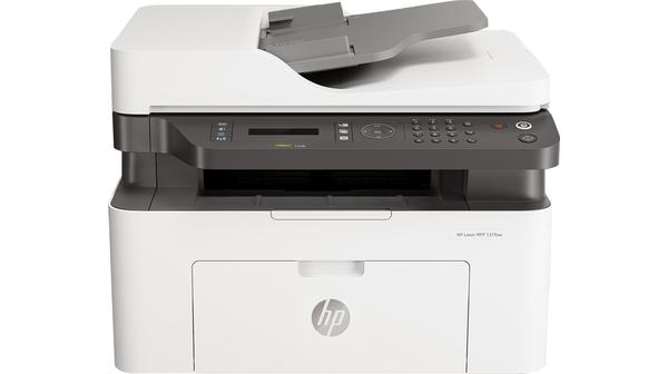Máy in đa năng HP Laser MFP 137fnw 4ZB84A mặt chính diện