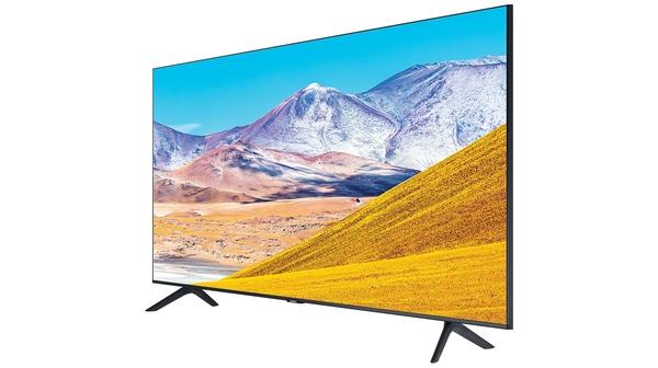 Smart Tivi Samsung 4K 50 inch UA50TU8000KXXV mặt nghiêng trái