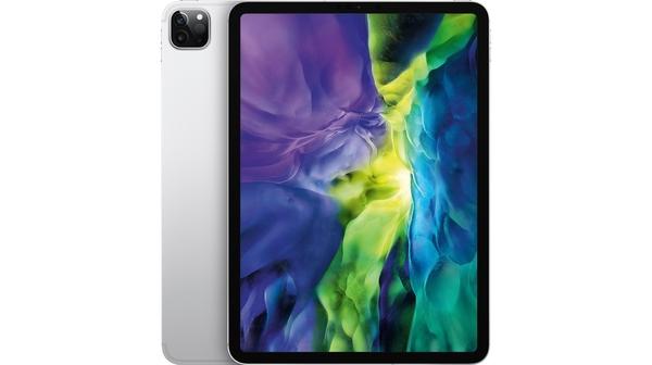Máy tính bảng Apple iPad Pro 11 inch Wifi Cellular 128GB Bạc 2020 mặt trước sau