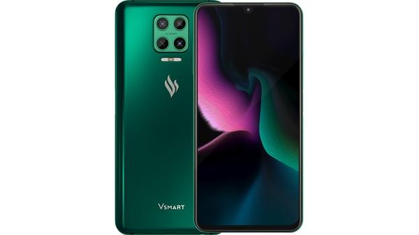 Điện thoại Vsmart Aris 8GB/128GB Lục Cực Quang tổng quan