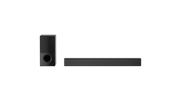 Loa soundbar LG SNH5.DVNMLLK mặt chính diện