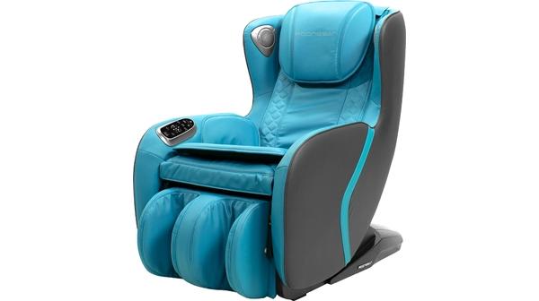 Ghế massage Poongsan MCP-129BL Xanh mặt nghiêng trái