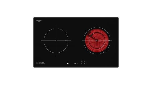 Bếp điện từ Malloca MH-7311IR Mặt bếp cóđộ cứng cao, chịu nhiệt và chịu lực tốt