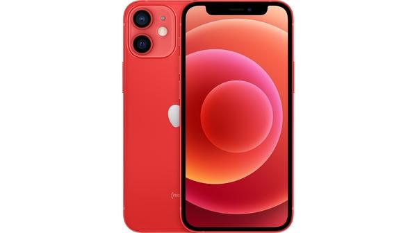 Điện thoại iPhone 12 Mini 64GB Đỏ mặt chính diện trước sau