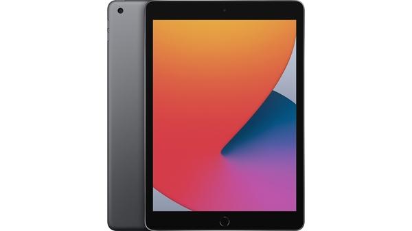 Máy tính bảng iPad 10.2 inch Wifi 32GB MYL92ZA/A Xám (2020) mặt chính diện trước sau
