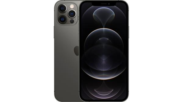 Điện thoại iPhone 12 Pro Max 256GB Xám mặt chính diện trước sau