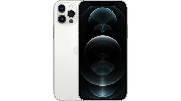 Điện thoại iPhone 12 Pro Max 256GB Bạc mặt chính diện trước sau