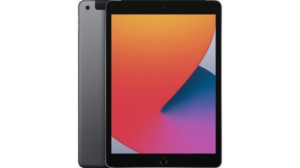 Máy tính bảng iPad 10.2 inch Wifi Cellular 32GB MYMH2ZA/A Xám (2020) mặt chính diện trước sau