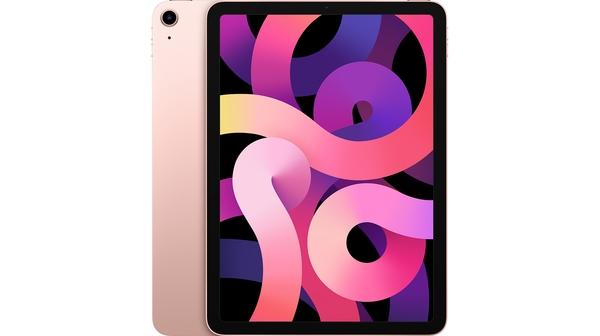 Máy tính bảng iPad Air 10.9 inch Wifi 64GB MYFP2ZA/A Vàng Hồng 2020 mặt chính diện trước sau