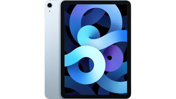 Máy tính bảng iPad Air 10.9 inch Wifi 64GB MYFQ2ZA/A Xanh dương 2020 mặt chính diện trước sau
