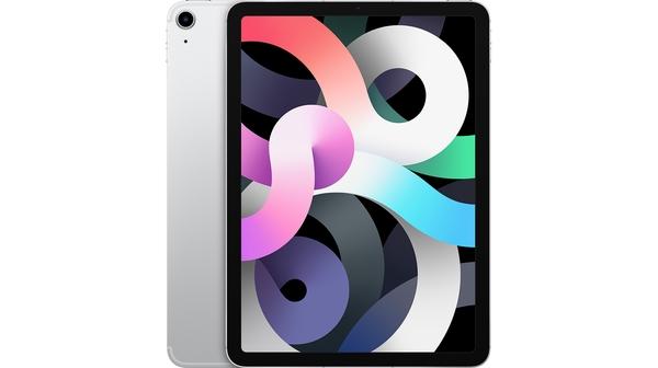 Máy tính bảng iPad Air 10.9 inch Wifi Cell 64GB MYGX2ZA/A Bạc 2020 mặt chính diện trước sau
