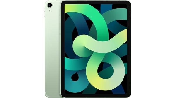 Máy tính bảng iPad Air 10.9 inch Wifi Cell 64GB MYH12ZA/A Xanh lá 2020 mặt chính diện trước sau