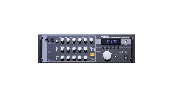 Amply Jarguar Suhyoung PA-603A mặt chính diện