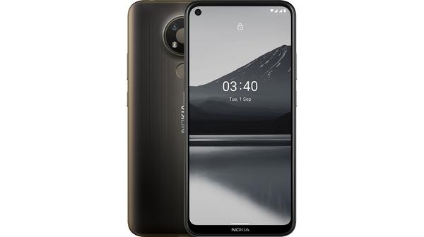 Điện thoại Nokia 3.4 4GB/64GB Xám mặt chính diện trước sau