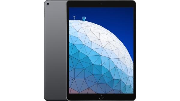 Máy tính bảng iPad Air 10.5 inch Wifi 256GB MUUQ2ZA/A Xám (2019) mặt chính diện trước sau