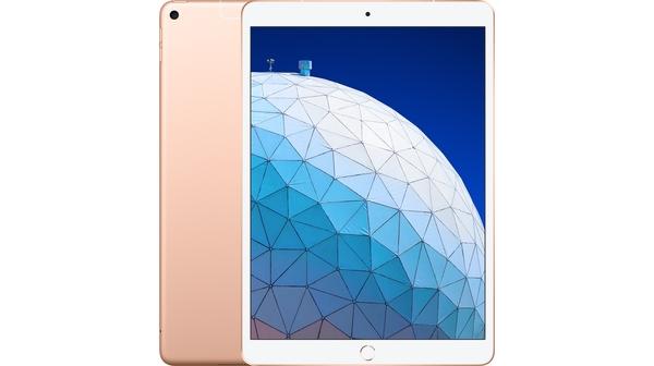 Máy tính bảng iPad Air 10.5'' Wifi Cellular 64GB MV0F2ZA/A Vàng (2019) mặt chính diện trước sau