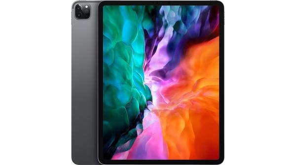 Máy tính bảng iPad Pro 12.9 inch Wifi 128GB MY2H2ZA/A Xám 2020 mặt chính diện trước sau