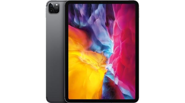 Máy tính bảng iPad Pro 11 inch Wifi Cell 256GB MXE42ZA/A Xám 2020 mặt chính diện trước sau