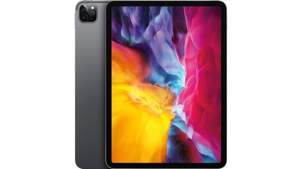 Máy tính bảng iPad Pro 11 inch Wifi 128GB MY232ZA/A Xám (2020) mặt chính diện trước sau