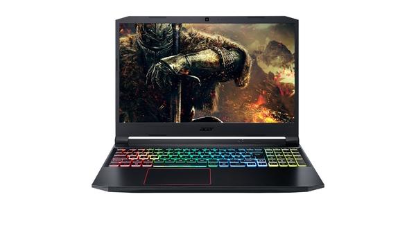 Laptop Acer Nitro AN515-55-77P9 i7-10750H 15.6 inch NH.Q7NSV.003 măt chính diện