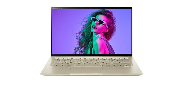 Laptop Acer Swift 5 SF514-55T-51NZ i5-1135G7 14 inch NX.HX9SV.002 mặt chính diện