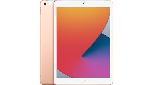 Máy tính bảng iPad 10.2 inch Wifi Cellular 128GB MYMN2ZA/A Vàng (2020) mặt chính diện trước sau