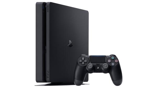 Máy chơi game Sony PS4 Slim 1TB MEGA3 CUH-2218B mặt nghiêng trái