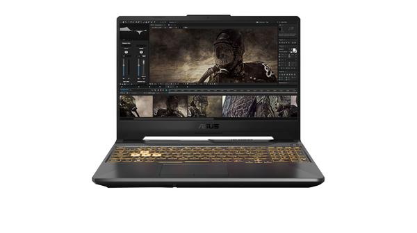 Laptop Asus FX506L i5-10300H 15.6 inch FX506LI-HN039T mặt chính diện