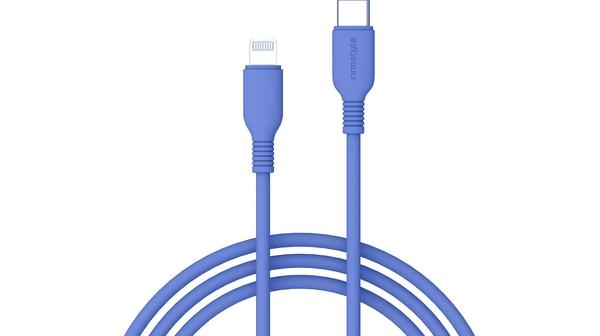 Cáp sạc USB-C to Lightning 1.2m Innostyle Jazzy J_ICL120 Xanh Sạc nhanh 3A