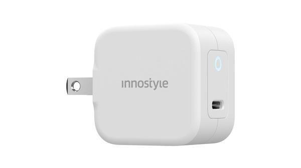 Củ sạc nhanh USB-C PD 20W Minigo III Innostyle IC20PDWHI Trắng thiết kế siêu nhỏ gọn