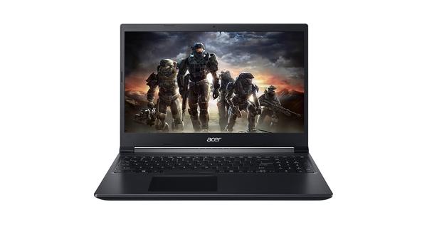 Laptop Acer Aspire 7 A715-41G-R282 R5-3550H 15.6 inch NH.Q8SSV.005 mặt chính diện