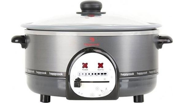 Lẩu điện Happy Cook HCHP-300A 2.8 lít giảm giá tại Nguyễn Kim